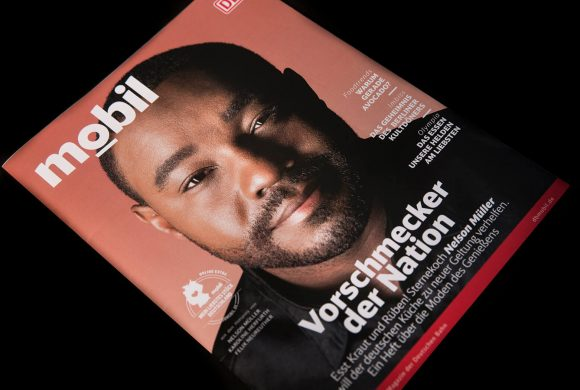 Cover DB Magazin – Nelson Müller