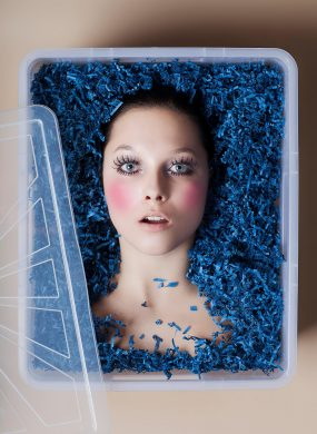 """Editorial """"Beauty in the box"""""""
